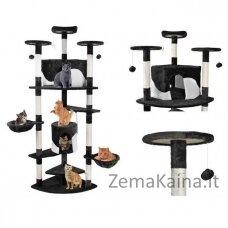 Draskyklė katėms, 200 cm, juoda - Vangaloo