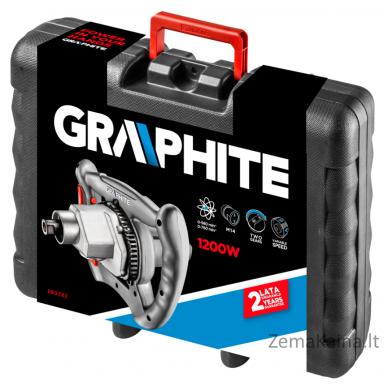 Elektrinė skiedinio maišyklė GRAPHITE 58G782 4