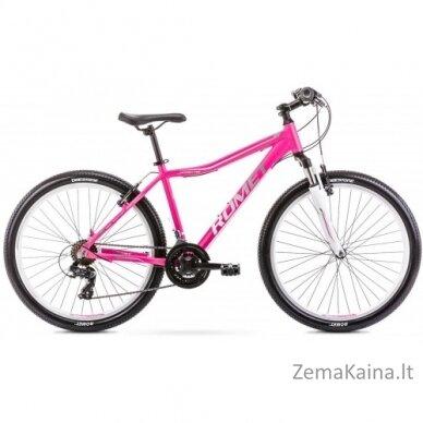 "Dviratis Romet Jolene 6.0 26"" 2021 pink-grey 17M"