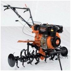 Dyzelinis motoblokas - kultivatorius su el. starteriu ASTOR 1350E / 7.35 kW