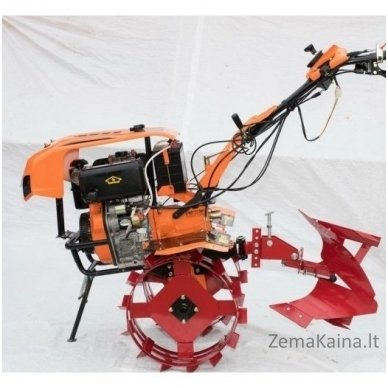 Dyzelinis motoblokas - kultivatorius su el. starteriu ASTOR 1350DE, 7.35 kW 3