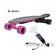 Elektrinė riedlentė Ego-2 Longboard Hot Pink