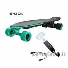 Elektrinė riedlentė  Ego-2 Longboard Royal Wave Green
