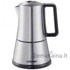 Espresso kavos plikinimo aparatas