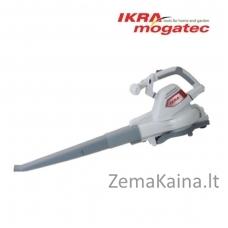 Elektrinis lapų pūstuvas/surinkėjas 3 kW Ikra Mogatec ILS 3000 E