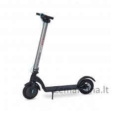Elektrinis paspirtukas Beaster Scooter BS700S, 700 W, 36 V, 6,4 Ah, 22 cm ratai, sidabrinis