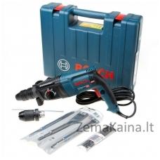 Elektrinis perforatorius BOSCH GBH 2-26 F, 830 W, 2,7 J, SDS-plus, komplekte 6 priedai