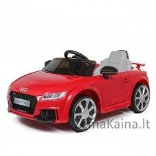 Elektromobilis vaikams AUDI TT RS 12V Raudonas