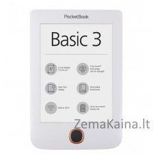 Elektroninė skaityklė POCKETBOOK 614 Basic 3 Balta