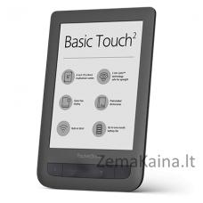 Elektroninė skaityklė POCKETBOOK 625 Basic Touch 2 Juoda