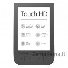 Elektroninė skaityklė POCKETBOOK Touch HD 631 Ruda