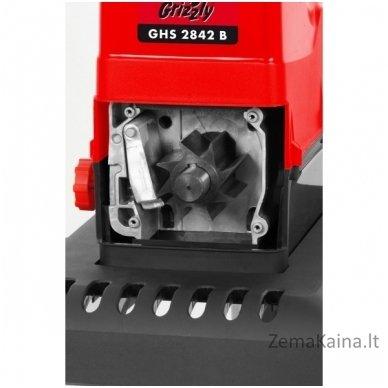 Elektrinis šakų smulkintuvas Grizzly GHS 2842 B 3