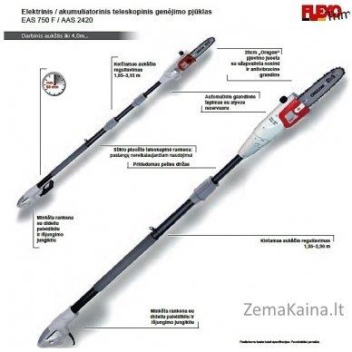 Elektrinė aukštapjovė 750 Watt Ikra Mogatec IEAS 750 F 6