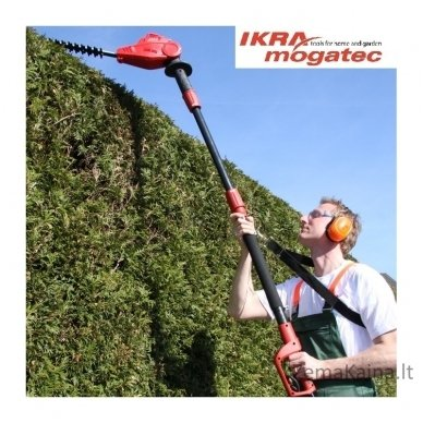 Elektrinė aukštapjovė gyvatvorėms Ikra Mogatec THS 500 4