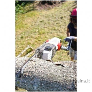 Elektrinė aukštapjovė gyvatvorėms ir genėjimo pjūklas 2in1 Ikra Gmbh ITHK 800 6