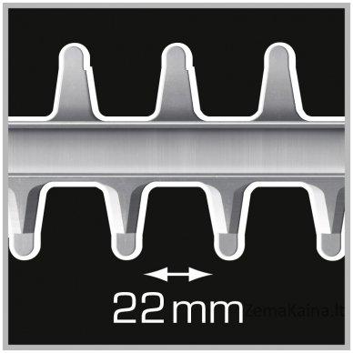 Elektrinės gyvatvorių žirklės Tonino Lamborghini 500 Watt HS 6050 D 3