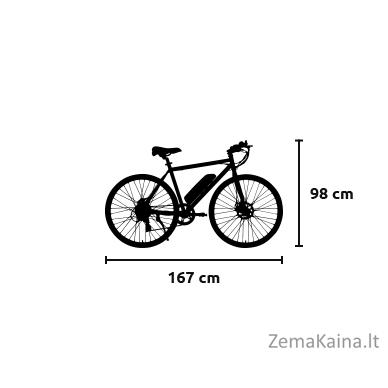 Elektrinis dviratis VIVO M-VTOUR27 4