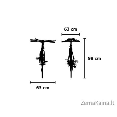Elektrinis dviratis VIVO M-VTOUR27 3