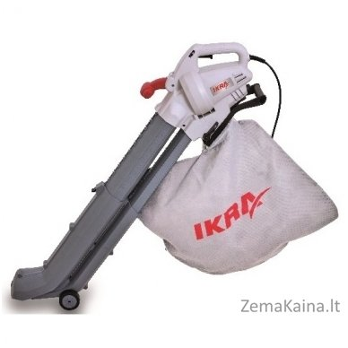 Elektrinis lapų pūstuvas/surinkėjas 2.8 kW Ikra Mogatec IBV 2800 E