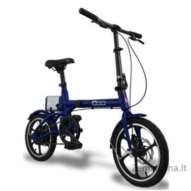 Elektrinis sulankstomas dviratis FIAT 500 2