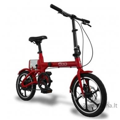 Elektrinis sulankstomas dviratis FIAT 500 3