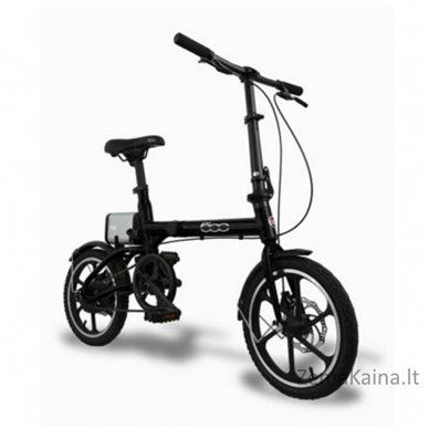 Elektrinis sulankstomas dviratis FIAT 500 4