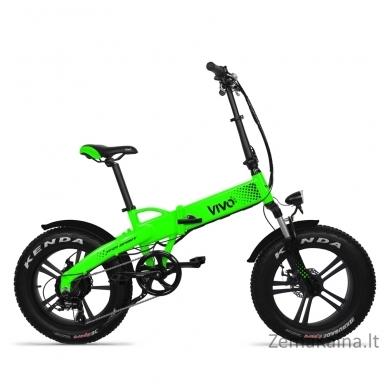Elektrinis sulankstomas dviratis VIVO M-VF21SPG