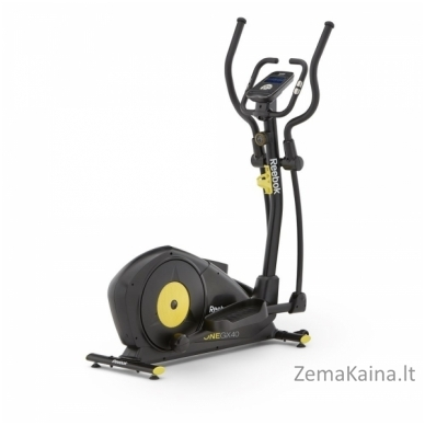 Elipsinis treniruoklis Reebok GX40 ONE Black Yellow