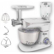 Esperanza EKM025 virtuvinis kombainas 5 L Nerūdijančiojo plieno, Balta 1000 W