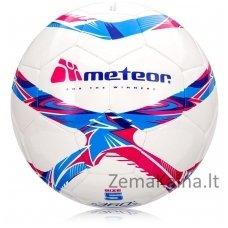 Futbolo kamuolys Meteor 360 SHINY white (5 dydis)