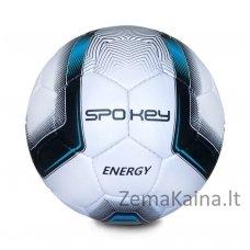 Futbolo kamuolys Spokey ENERGY Blue (5 dydis)