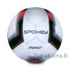 Futbolo kamuolys Spokey ENERGY Red (5 dydis)