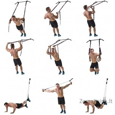 Funkcinis treniruoklis TUNTURI CrossFit Trainer 2