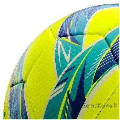 Futbolo kamuolys Meteor GRAIN HS neon yellow (5 dydis) 2
