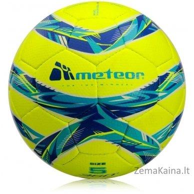 Futbolo kamuolys Meteor GRAIN HS neon yellow (5 dydis)