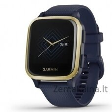 Garmin Venu SQ MUSIC, Navy/Gold