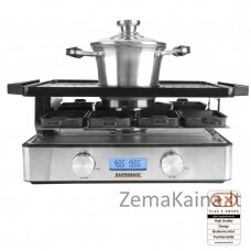 Gastroback 42562 Design Raclette-Fondue Advanced Plu