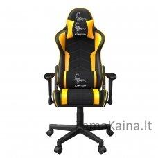 """Gembird GC-SCORPION-05X žaidimų kėdė """"SCORPION"""", juoda ir geltona"""
