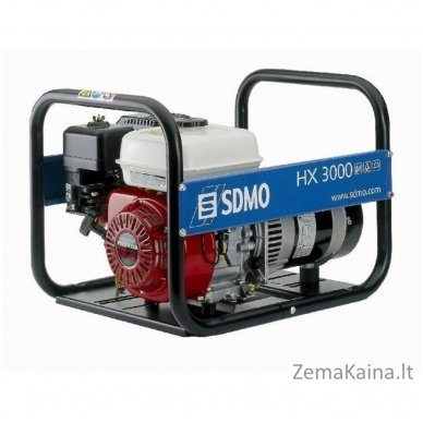 Generatorius SDMO HX3000 Honda GX200