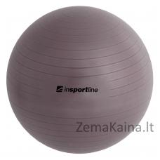 Gimnastikos kamuolys inSPORTline Comfort Ball 85 cm pilkas