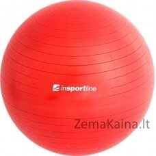 Gimnastikos kamuolys + pompa inSPORTline Top Ball 45cm - Red