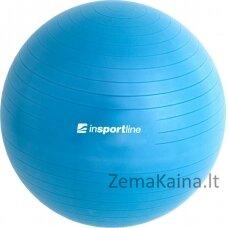 Gimnastikos kamuolys + pompa inSPORTline Top Ball 65cm -  Blue
