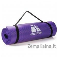 Kilimėlis mankštai Meteor NBR 183x61x1 cm (violetinis)