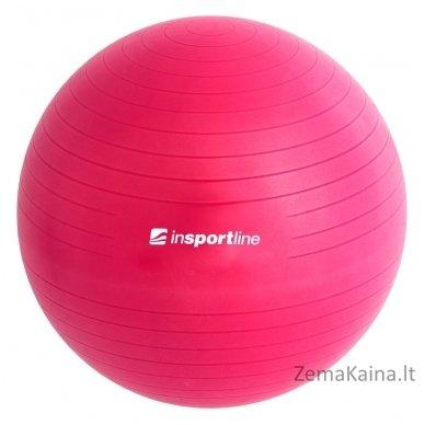 Gimnastikos kamuolys inSPORTline Top Ball 85 cm rožinis