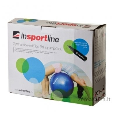 Gimnastikos kamuolys inSPORTline Top Ball 85 cm mėlynas 4