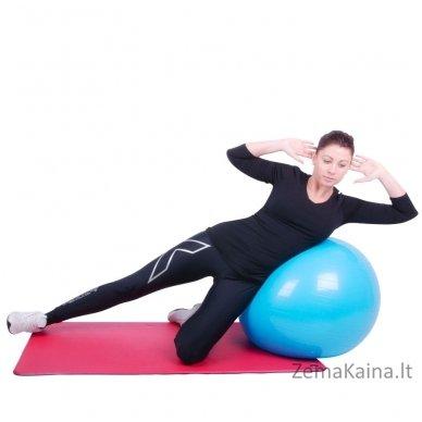 Gimnastikos kamuolys inSPORTline Top Ball 85 cm raudonas 3