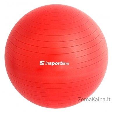 Gimnastikos kamuolys inSPORTline Top Ball 85 cm raudonas