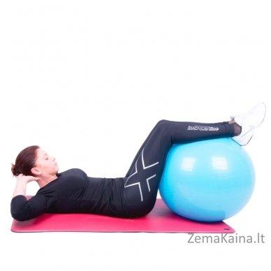 Gimnastikos kamuolys inSPORTline Top Ball 85 cm raudonas 5