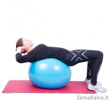 Gimnastikos kamuolys inSPORTline Top Ball 85 cm raudonas 2