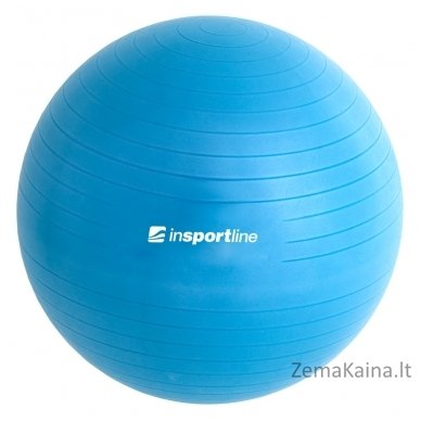 Gimnastikos kamuolys inSPORTline Top Ball 85 cm mėlynas